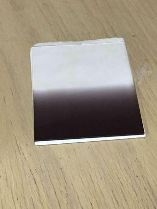 Graduated Black Color Square Filter with holder and cover