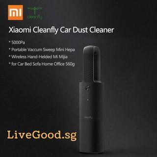 🚚 (HOT!) Xiaomi CoClean/Cleanfly Car Vacuum Cleaner (Wireless and Handheld)