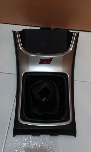 Subaru sti gear panel