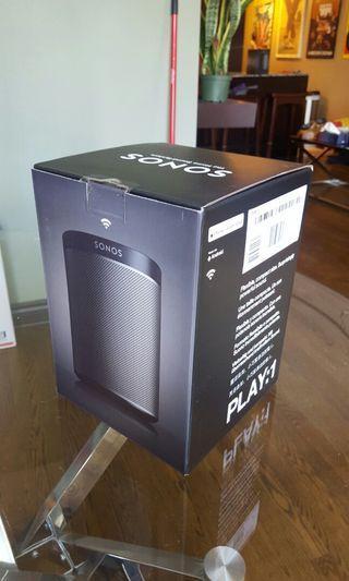 SONOS PLAY:1 speaker (BNIB factory sealed)