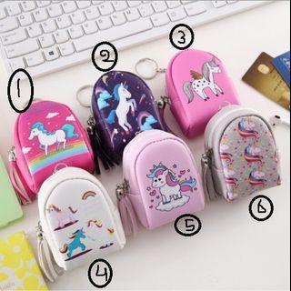 Dompet Tas penyimpanan koin headset earphone pouch