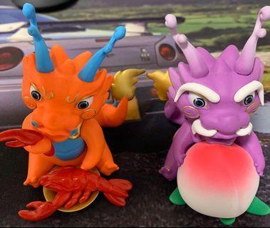 MBS Lucky Dragon (set of 2)