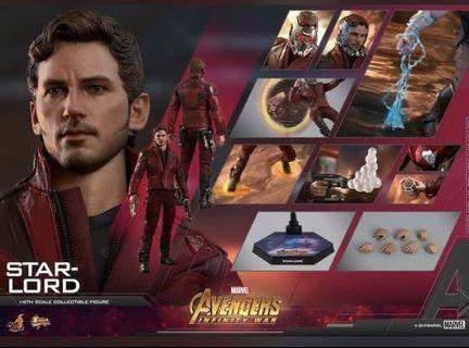 hot toys starlord 22/6 單