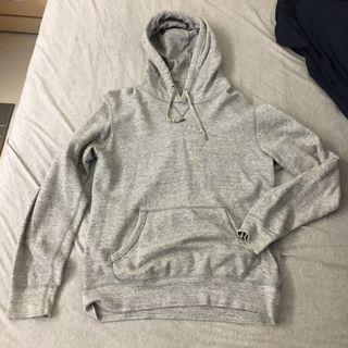 Uniqlo 灰色連帽長袖(M)