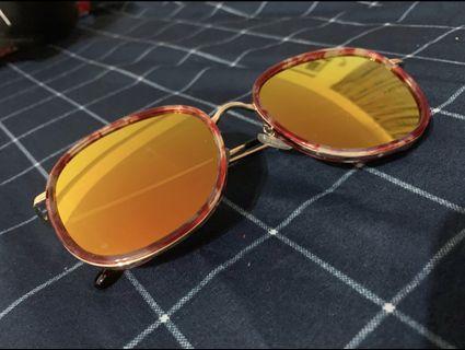 彩色鏡面墨鏡
