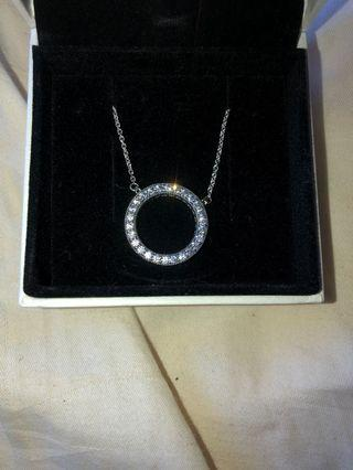 Pandora Circle Of Sparkle Necklace