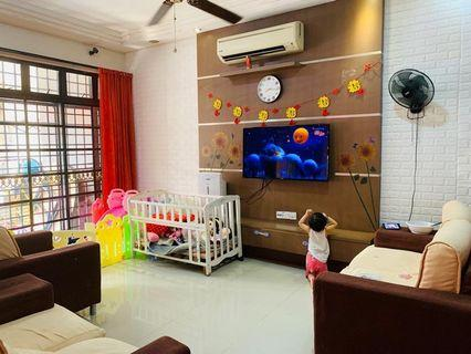 Desa Cemerlang 2stry Big Unit Renovated House For Sale