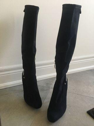 Womens Guess Knee Length Boots, US Size 7.5