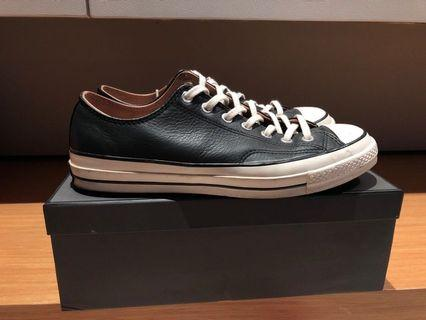 Converse 1970's black leather low US 11