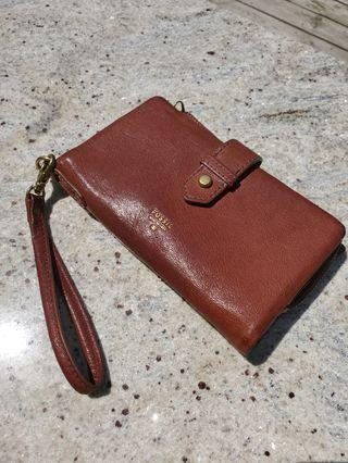 REDUCED Fossil large wallet