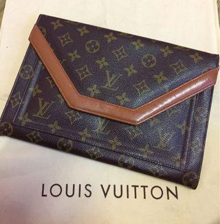 Vintage Lv Clutch Made In USA