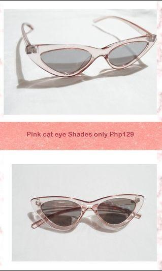 Pink cat eye shades