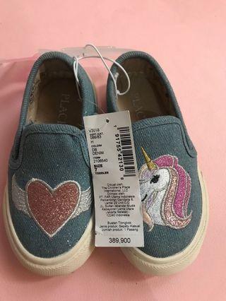 Sepatu Bayi Unicorn Denim size7