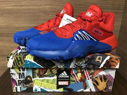 "100% 全新 Men's adidas D.O.N. Issue #1 ""Amazing Spider-Man"" EF8756 US8.5"
