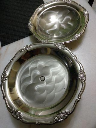 Silver plated trays - used