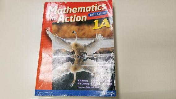 Mathematics in Action 1A (Third Edition)