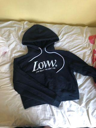 Lower hoodie size 12