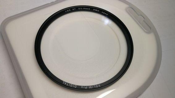 67mm Haze Nano濾鏡(有花)