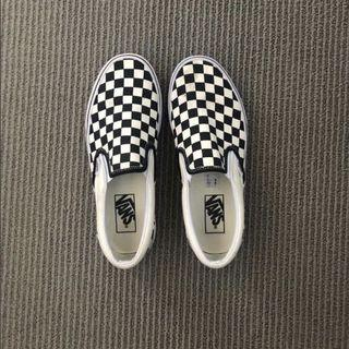 Checkered vans size 7.5 womens