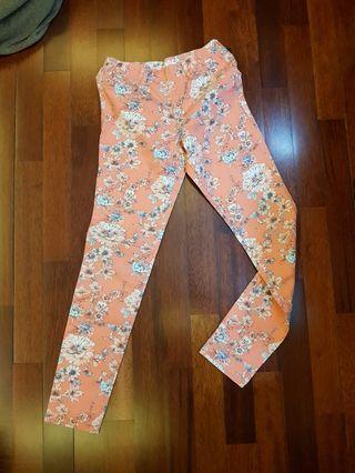 Floral Pants Legging