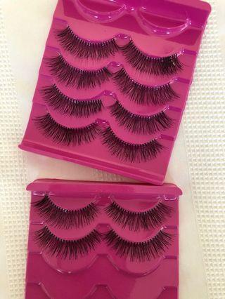 6 PAIRS OF LASHES