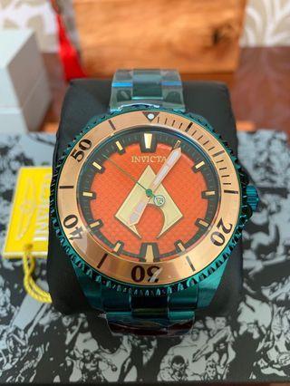 🚚 英威塔 DC英雄 水行俠 機械錶