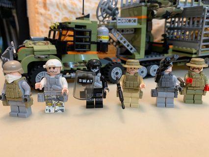 非法捕獵流動基地(兼容Lego )