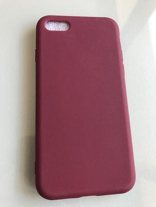 iPhone 7 Maroon Soft Case
