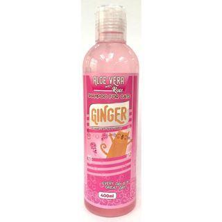 [ReadyStock] Ginger Cat Shampoo 400ml – Rose