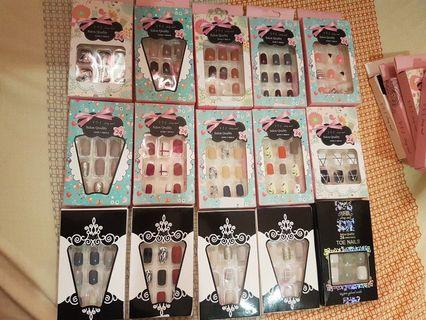 New Stock! Press on Nails / Fake Nails (Nail glue included)