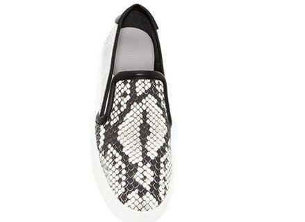 Brand New Never worn Size 9.5 Vince -Bram Black and White Shoes