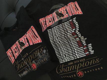 OVO RAPTORS Championship Shirts