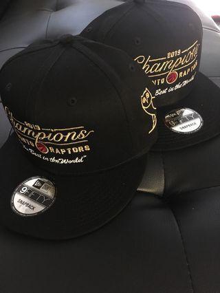 OVO RAPTORS CHAMPIONSHIP HATS&SHIRTS