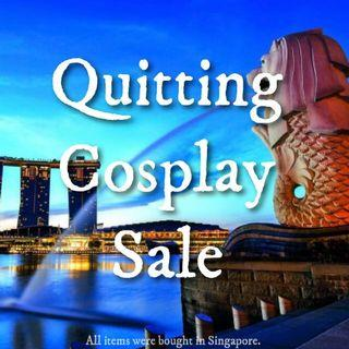 QUITTING COSPLAY SALE