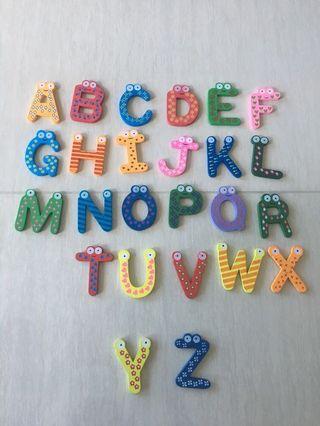 Alphabets Magnet (Alphabet S missing)