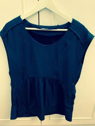 Esprit collections - Navy Blue Top
