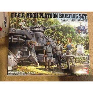 08MS E.F.S.F. MS Briefing Set (Gundam Model Kits)