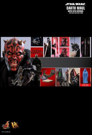 Hot Toys Hottoys Darth Maul with sith speeder and bonus part 訂單 (30/7)