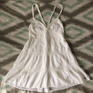 Brand New White Summer Dress (Size Largee fits more like Medium)