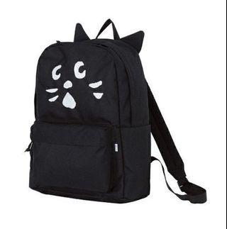 Ne net nya backpack 貓耳 背囊 背包 黑色貓