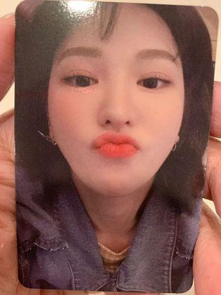 WTT Wendy photocard to Irene photocard