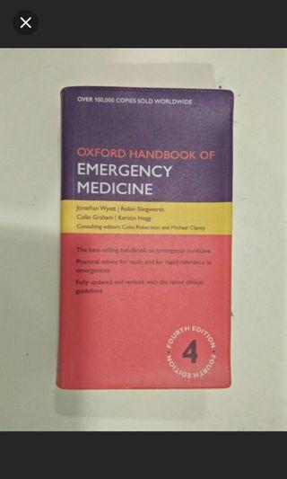 Oxford Handbook Emergency Medicine