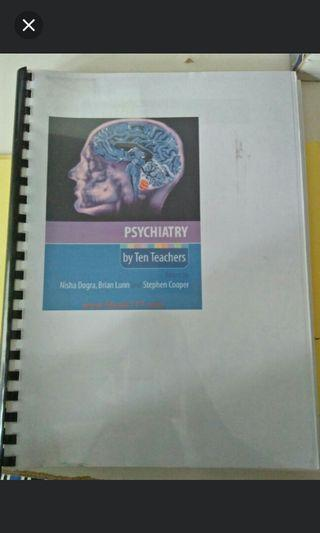 Psychiatric Tenteachers