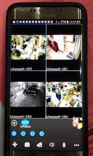 Cheapest fullHD CCTV FREE Install with Cellphone Monitoring bundle
