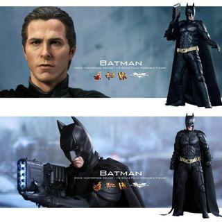 全新未開封品 Hottoys DX12 Batman The Dark Knight Rise 蝙蝠俠
