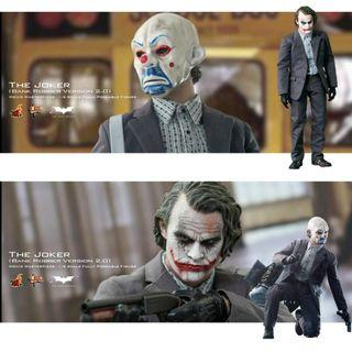 全新未開封品 Hottoys MMS249 Joker (Bank Robber Ver. 2.0) 幪面賊 銀行劫匪 小丑 蝙蝠俠 Batman