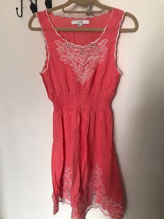 Vintage look summer dress forever21