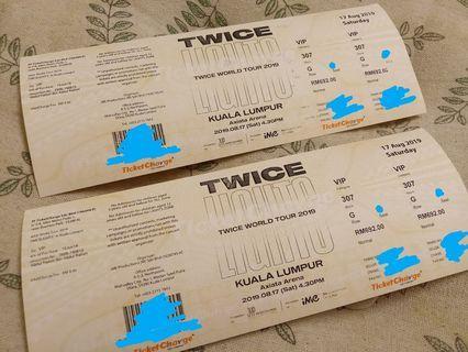 Twicelights KL VIP tickets
