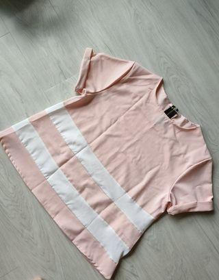 🚚 Pink office top