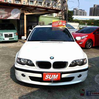 BMW 318i E46 2.0 4門車